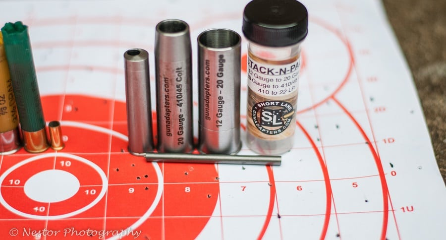 SHORT LANE GUN ADAPTERS STACK-N-PACK KIT: TURNING A 12 GAUGE INTO A TRULY VERSATILE WEAPON