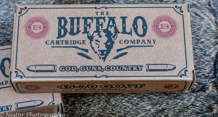 .45/70 CARTRIDGE REVIEW: BUFFALO CARTRIDGE COMPANY; OHIO-MADE BIG GAME CARTRIDGES