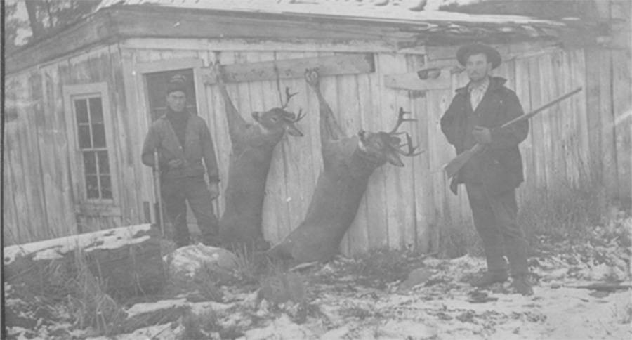 8 VINTAGE HUNTING PICTURES FROM THE OHIO DEPARTMENT OF NATURAL RESOURCES