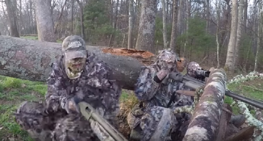 TURKEY HUNTERS BECOME THE HUNTED (VIDEO)