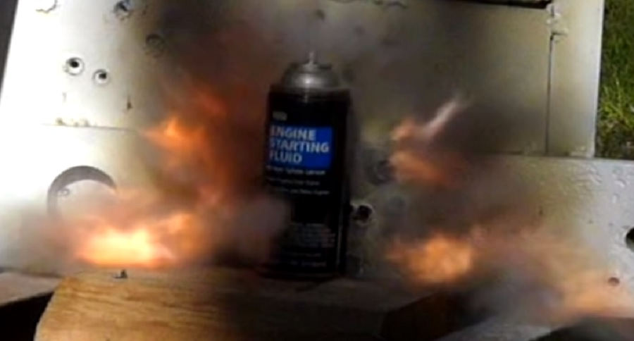SUNDAY GUNDAY: TESTING OUT HIGH EXPLOSIVE INCENDIARY ROUNDS (VIDEO)