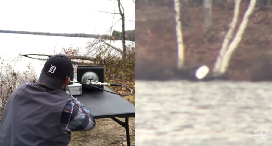 1250 YARD PELLET GUN SHOT? CHECK THIS OUT (VIDEO)