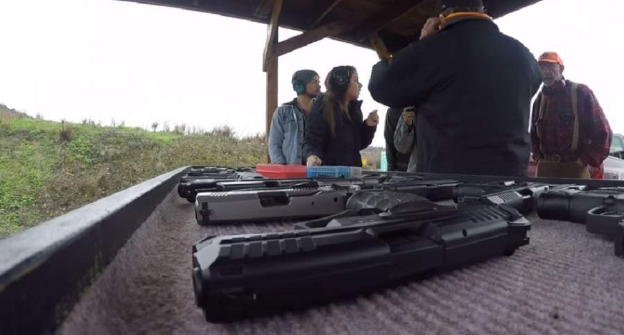 GUN RANGE BULLY? WATCH VIDEO AND DECIDE