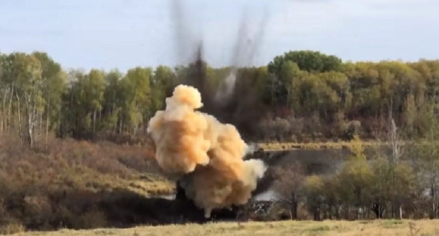 70 LBS OF TANNERITE VS. BEAVER DAM = EXTREME DANGER ON VIDEO