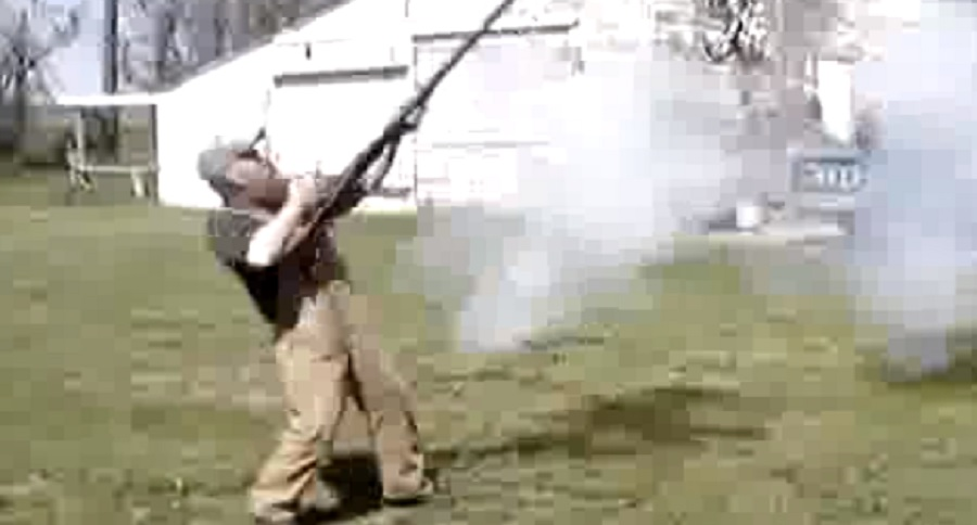 WHEN YOU NEED BIGGER: 4 GAUGE SHOTGUN IN ACTION