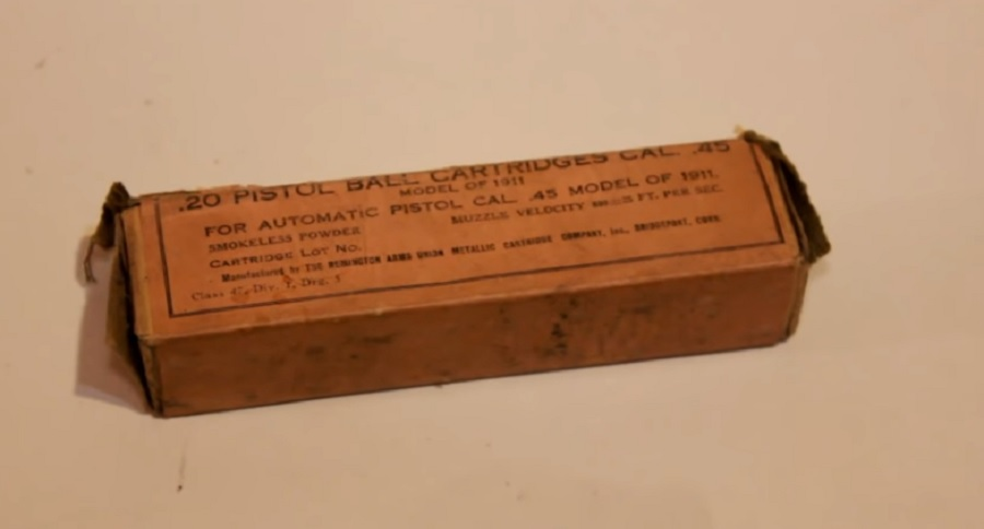 CENTURY OLD AMMO TESTED