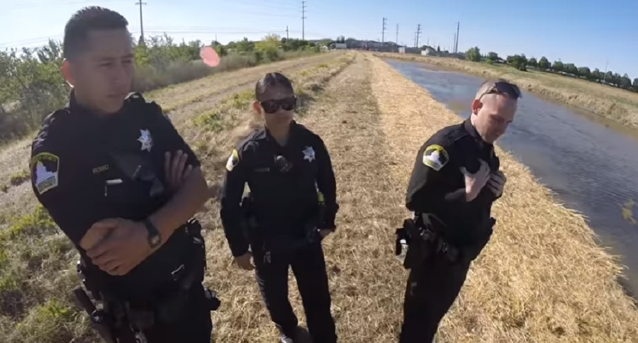 BOW FISHERMAN SCHOOLS LOCAL COPS (VIDEO)