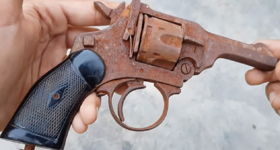 VINTAGE REVOLVER GETS A NEW LEASE ON LIFE