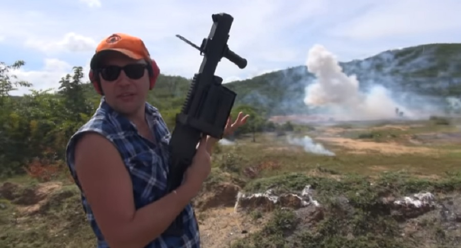 FUN WITH A 40MM (VIDEO)