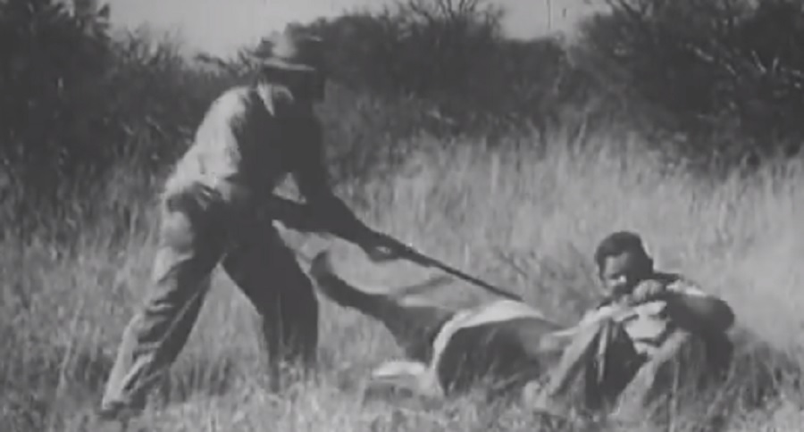 VINTAGE VIDEO: LION VS. MAN, WHO WILL WIN?