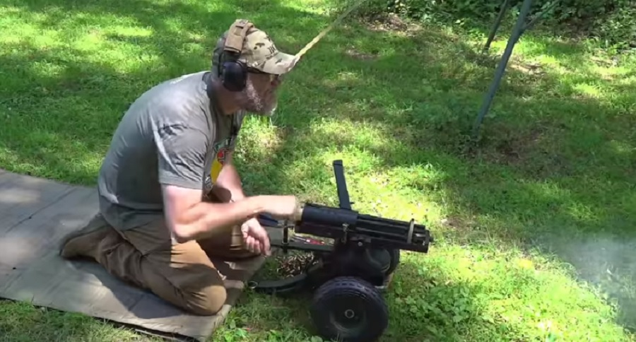 9MM GATLING GUN? SURE WHY NOT? (VIDEO)