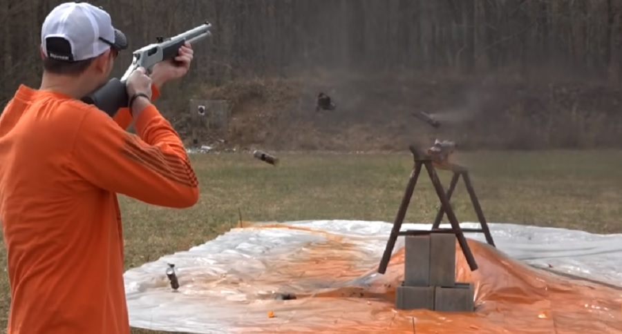 .45-70 CARTRIDGE VS. STUFF: EPIC FUN (VIDEO)