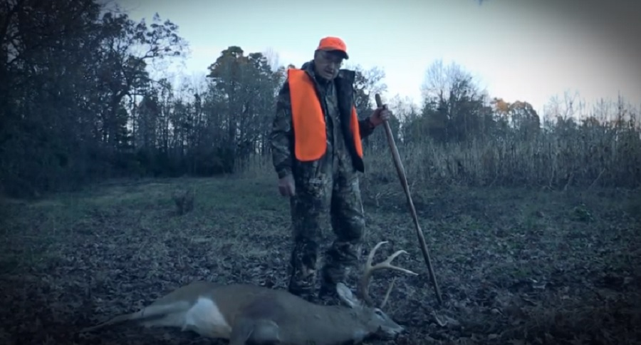 HUNTER DROPS HIS BIGGEST BUCK AT 105 YEARS YOUNG