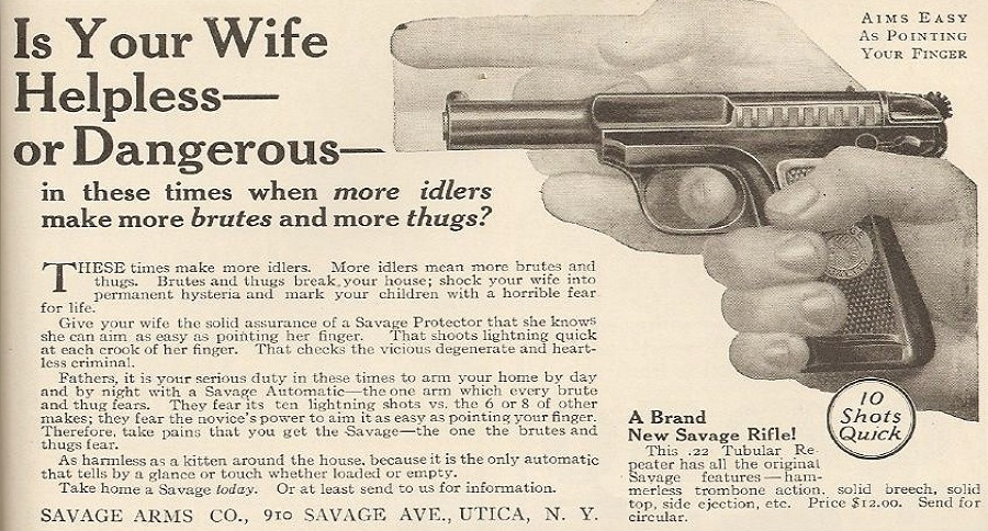 TIME WARP: 18 VINTAGE GUN ADS THAT WILL TAKE YOU BACK