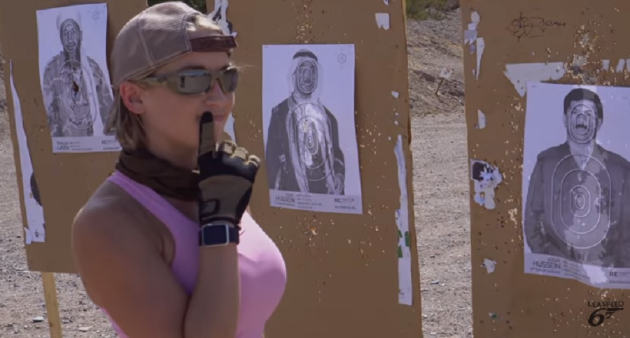 GET BANNED FROM THE RANGE WITH LEA SPEED (VIDEO)