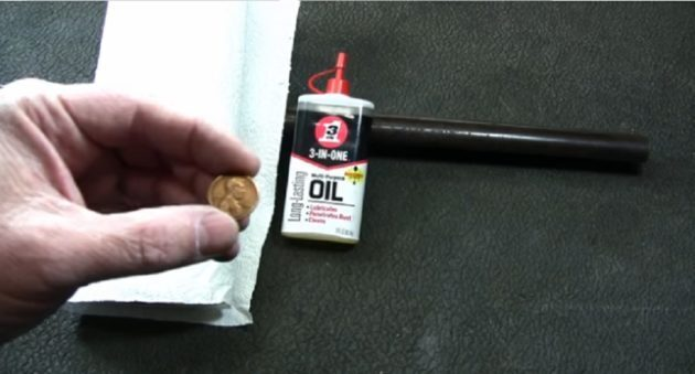 GUNSMITH HOW TO: REMOVE RUST USING A COPPER PENNY (VIDEO)