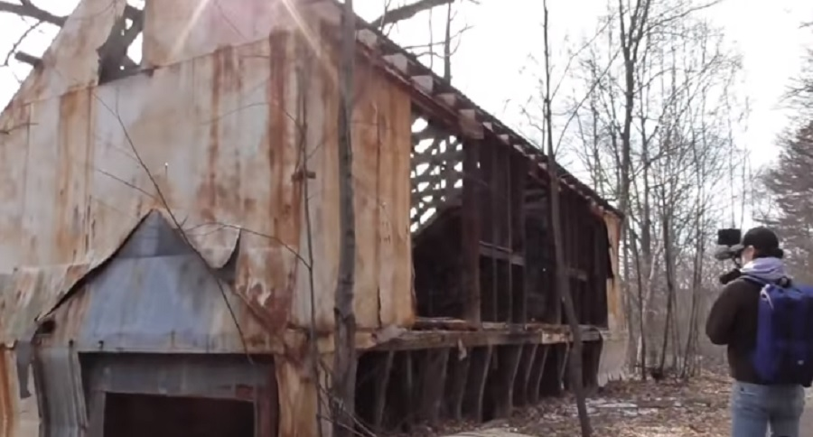 VIDEO TOUR OF THE ABANDONED GOEX POWDER PLANT