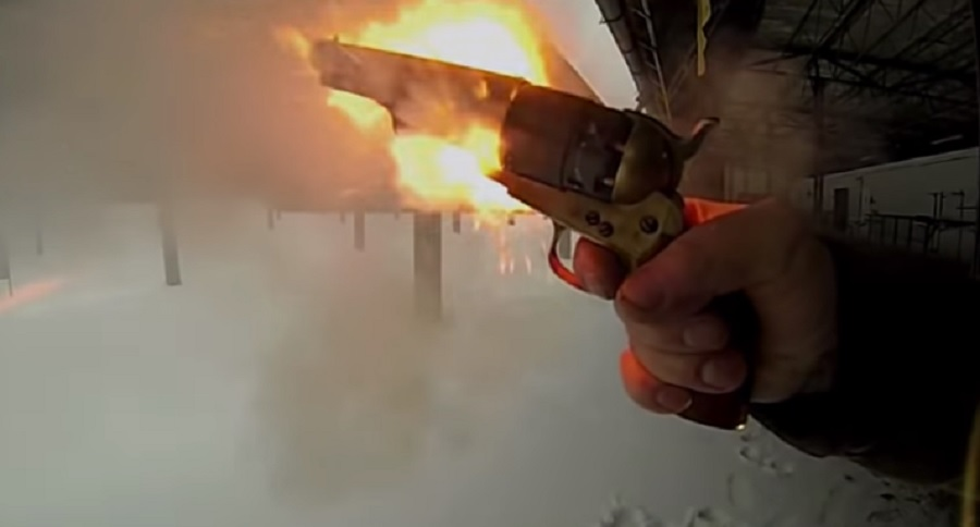 CAP & BALL CHAIN FIRE CAUGHT ON VIDEO