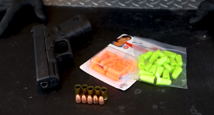 EARPLUGS AS BULLETS? LETS FIND OUT (VIDEO)