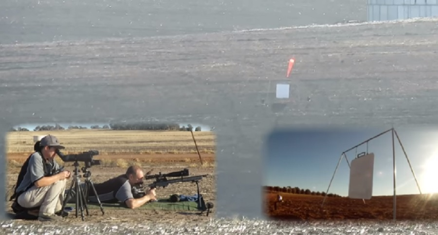 HITTING STEEL AT 1000 YARD WITH A .22 (VIDEO)