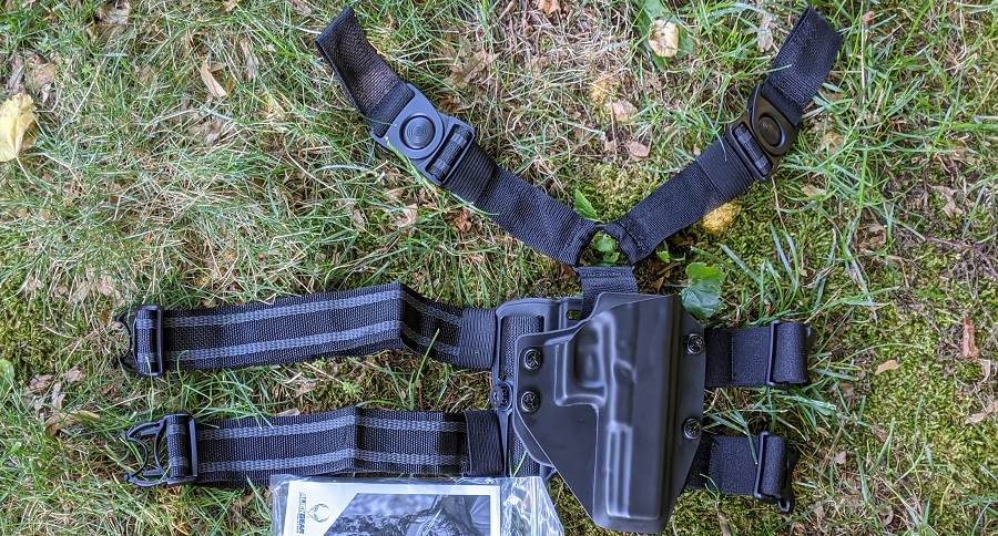 ALIEN GEAR REVIEW: CLOAK MOD DROP LEG HOLSTER WITH CLOAK MAG CARRIERS