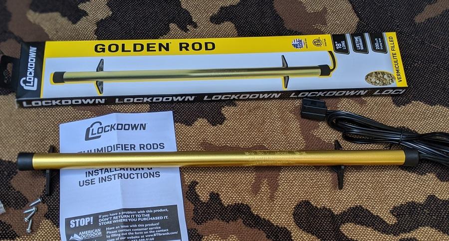 25 YEAR TEST: LOCKDOWN GOLDEN ROD GUN CABINET DEHUMIDIFIER